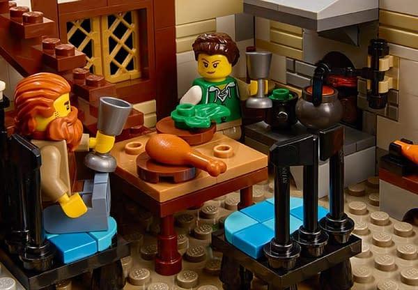 Medieval LEGO Knights Return with New LEGO Ideas Blacksmith Set