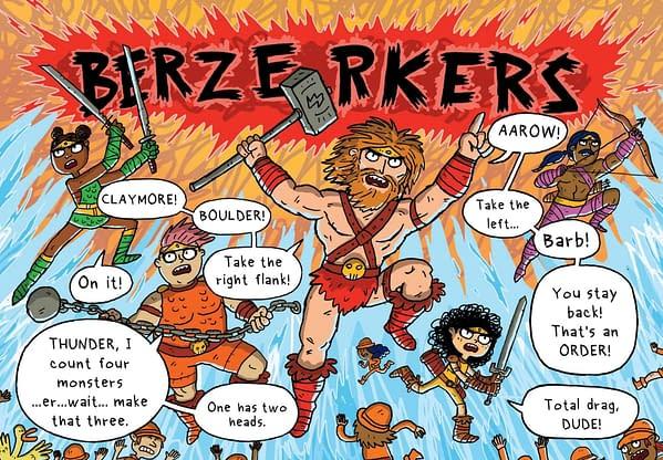 She-Ra Meets Dog Man in Barb, The Last Berzerker Graphic Novel