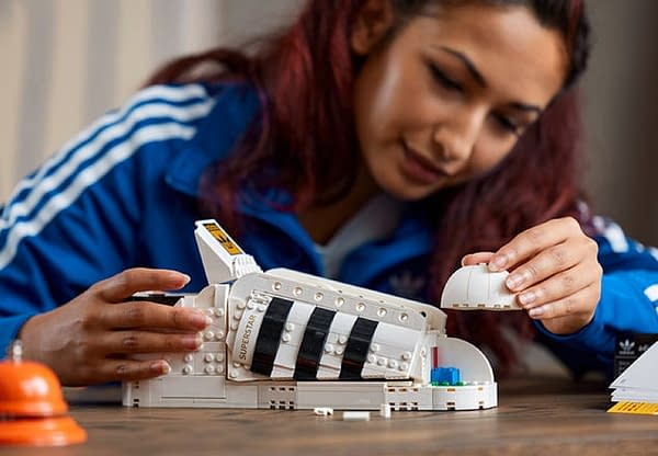 LEGO Reveals New Set Creating Adidas Originals Superstar in Brick-form