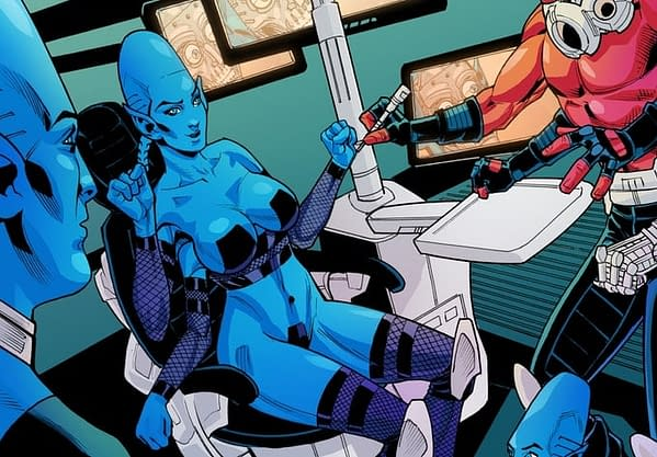 The Synthetics, a Comic About a Martian Robot Sex Worker, is Now on Kickstarter