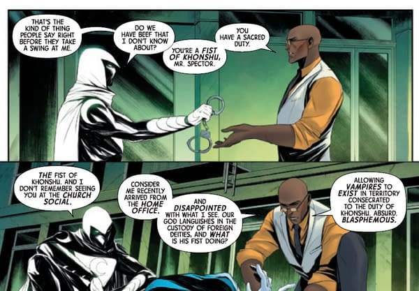 Moon Knight #1 Gets Its Hunter's Moon With Doctor Badr (Spoilers)