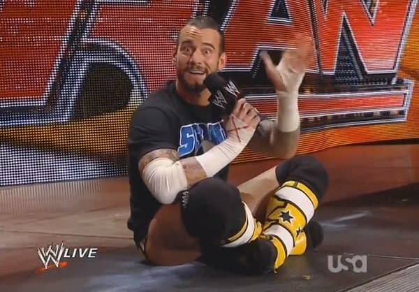 CM Punk appears on WWE Raw
