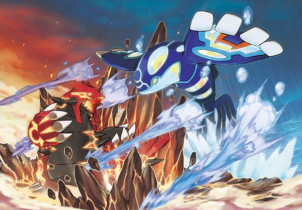 GameStop is Offering Pokémon Distribution Codes for Groudon and Kyogre