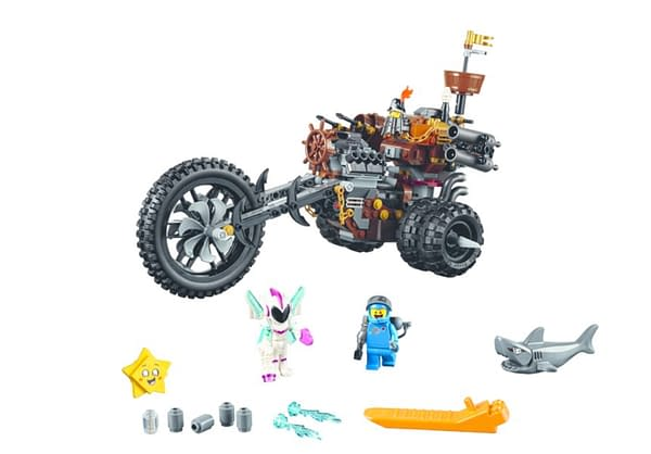 LEGO Movie 2 Metalbeards Motor trike 2