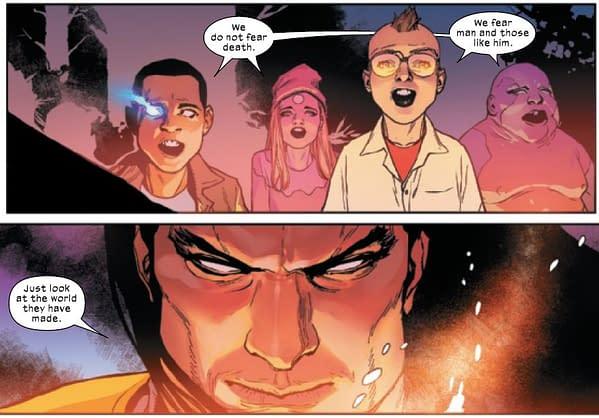 Chris Claremont's God Loves, Man Kills Ending Aimed At Current X-Men?
