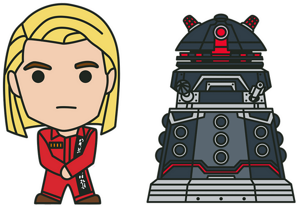 Doctor Who: Revolution Of The Daleks Pins For Sale On New Year's Day