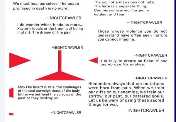 Nightcrawler, Starting A New Mutant Religion In Way Of X