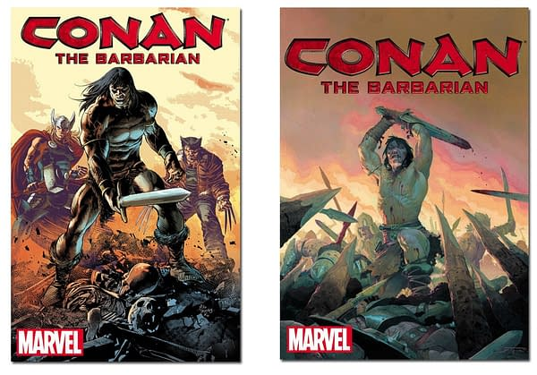 Marvel to Publish 3 Ongoing Conan Comics in 2019