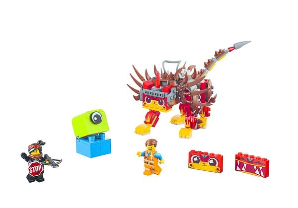 LEGO movie 2 Unikitty and Warrior Lucy 2