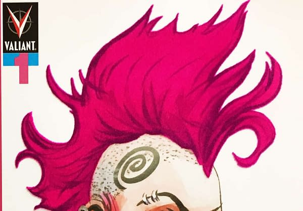 In Punkest Move Yet, Valiant Offers Flocked Variant Cover for Punk Mambo #1