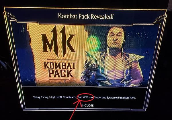 """Ash Williams Was Supposed To Be In The """"Mortal Kombat 11"""" DLC"""