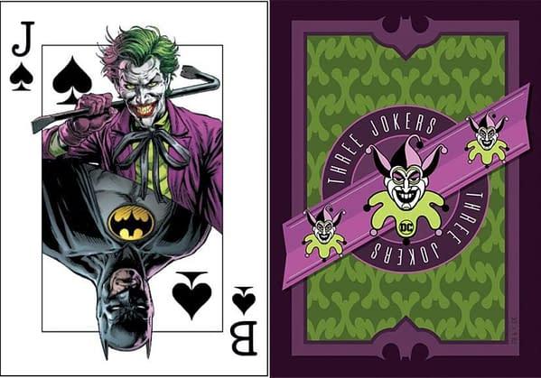 DC Comics Makes Batman: Three Jokers Playing Card Promotion Clearer.