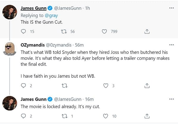 James Gunn Made A film Just For Gail Simone