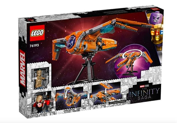 Build Starlord's Ship With New LEGO Guardians of the Galaxy Set
