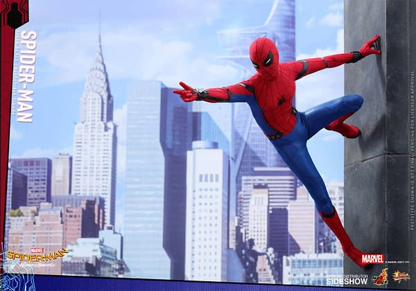 Hot Toys' Spider-Man: Homecoming Spidey Figure Shall Be Mine
