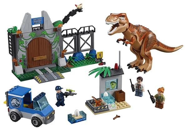 Jurassic World: Fallen Kingdom LEGO Sets Coming in April