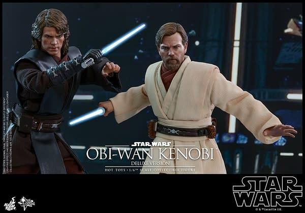 Ewan McGregor's Obi-Wan Kenobi Gets a Hot Toys Release