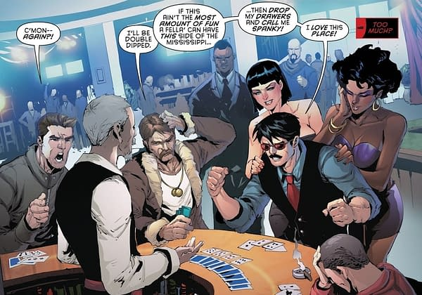 Is That Stormy Daniels in Red Hood and the Outlaws #21? (SPOILERS)