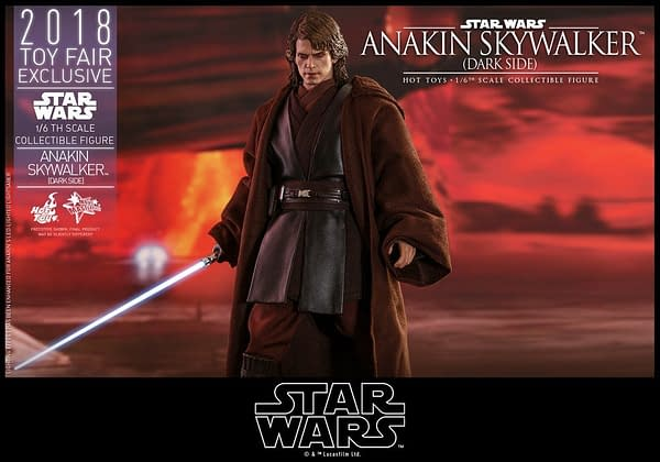 Hot Toys SDCC Exclusive Anakin Skywalker 10