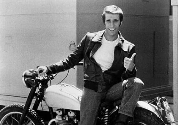 The Fonz's Triumph Motorcycle Sold For $179k