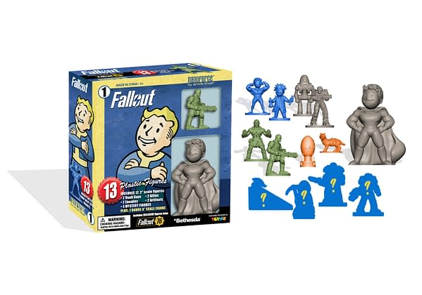Fallout nanoforce Figures Box 1