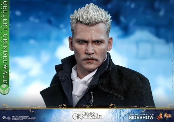 Fantastic Beasts Hot Toys Newt Scamander and Gellert Grindelwald Coming in 2019