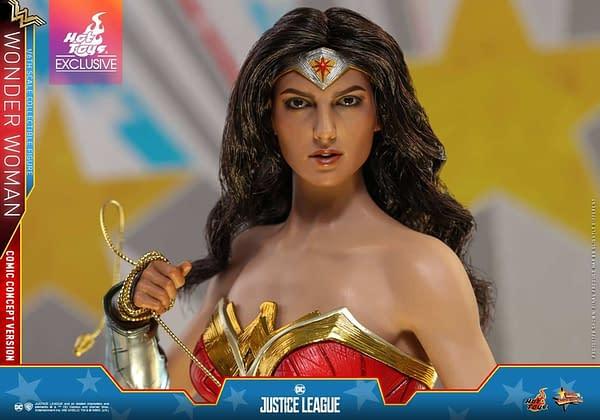 Hot Toys Justice League Wonder Woman Concept 7