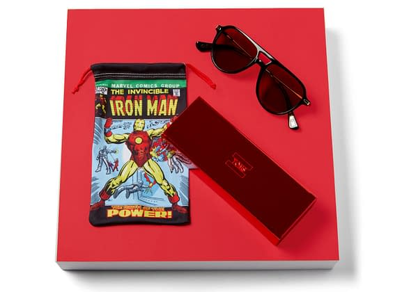 Marvel X TOMS Iron Man sunglasses 2