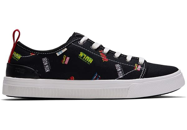 Marvel X TOMS Logo Shoes
