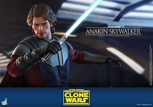 Star Wars Anakin Skywalker Returns to the Clone Wars with Hot Toys