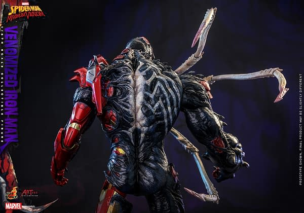 Venom Becomes a Nightmare With New Iron Man Hot Toys Figure
