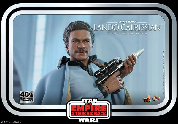 Star Wars Lando Calrissian Betrays His Friends with Hot Toys