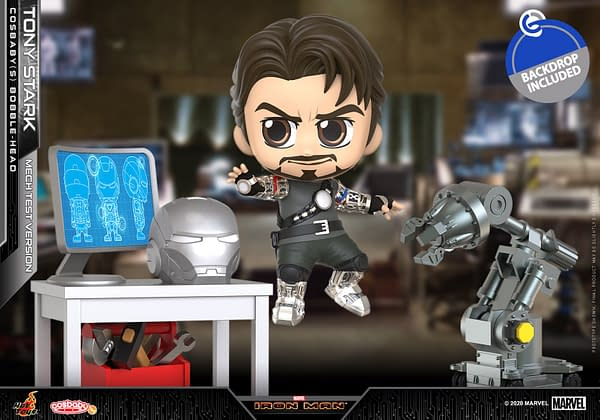 Hot Toys Reveals Two New Iron Man MCU Cosbaby Figures
