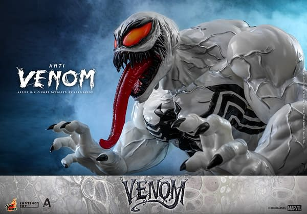 Anti-Venom is the Cure with the Newest Hot Toys Artist Mix Figure
