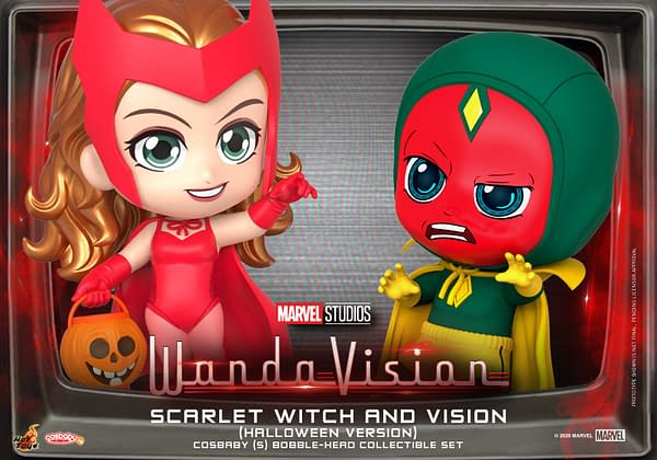 WandaVision Take on Halloween with New Hot Toys Set