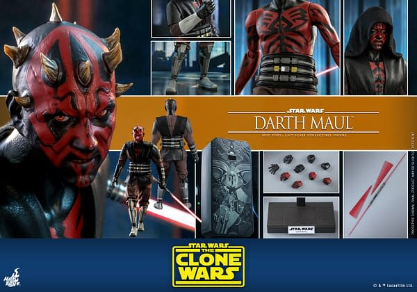 Darth Maul is Unleashed with the Newest Hot Toys Star Wars Figure