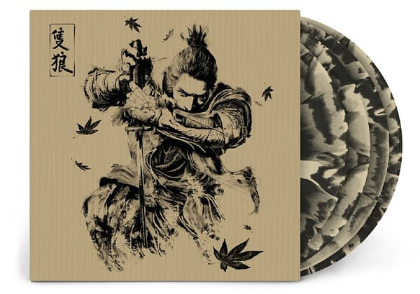 A look at the cover of the Sekiro: Shadows Die Twice vinyl album, courtesy of Laced Records.