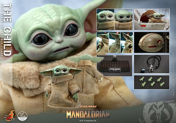 The Child Gets His Very Own 1/4th Scale Star Wars Hot Toys Figure
