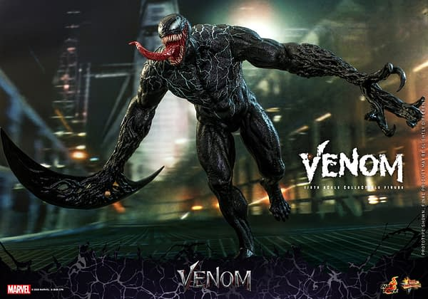 Venom Finally Has Arrived As He Gets His Own Hot Toys Figures