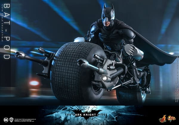 The Dark Knight Rises Bat-Pod Returns with Hot Toys Re-Release