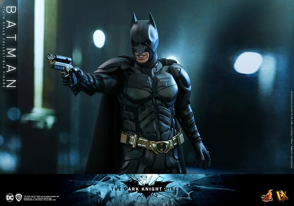 The Dark Knight Rises Batman Re-Release Coming from Hot Toys