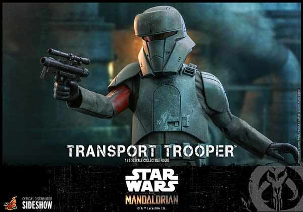 The Mandalorian Transport Trooper Comes to Life with Hot Toys