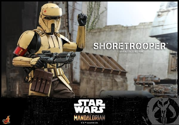Star Wars: The Mandalorian Shoretrooper Coming Soon From Hot Toys