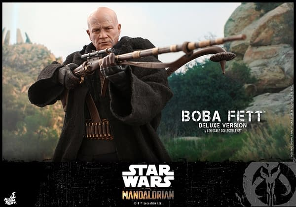 The Mandalorian Boba Fett Gets Two Figure Deluxe Set From Hot Toys