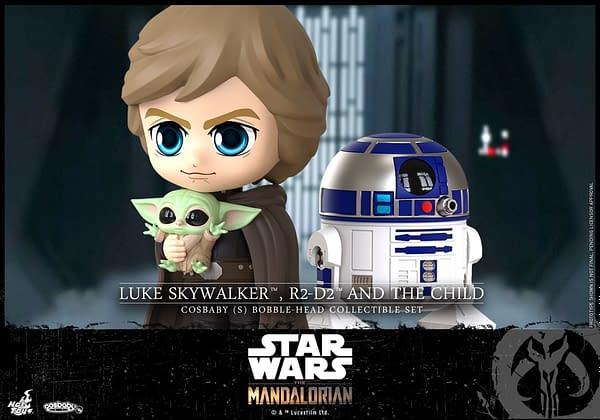 New The Mandalorian (Season 2) Hot Toys Cosbaby Figures Revealed