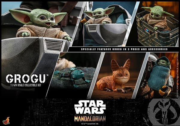 Grogu Gets His Own Star Wars Hot Toys 1/6th Scale Figure Release