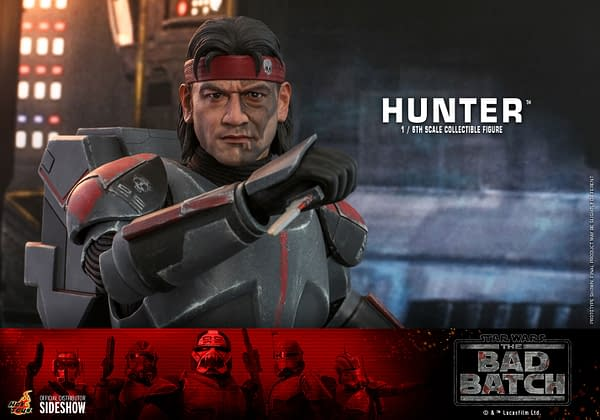 Star Wars: The Bad Batch Hunter Joins The Fight With Hot Toys