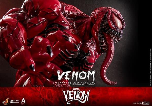 Venom Gets a Carnage Twist with Hot Toys Designer Artist Mix Figure