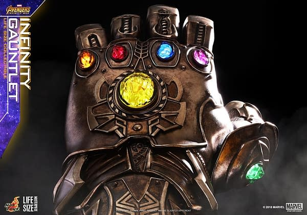 Hot Toys Reveals Its Version of the Infinity Gauntlet