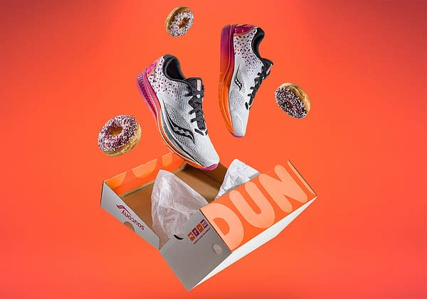 Go on a Donut Run in Saucony's New Dunkin Donuts Shoes